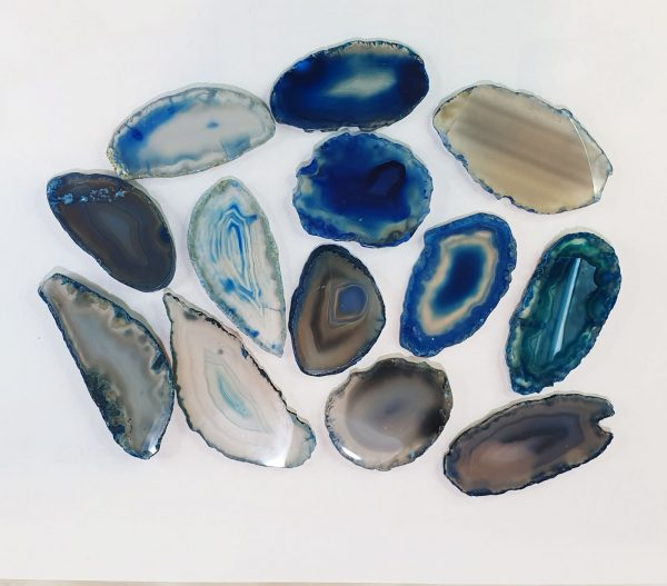 Blue Agate Glue Stone