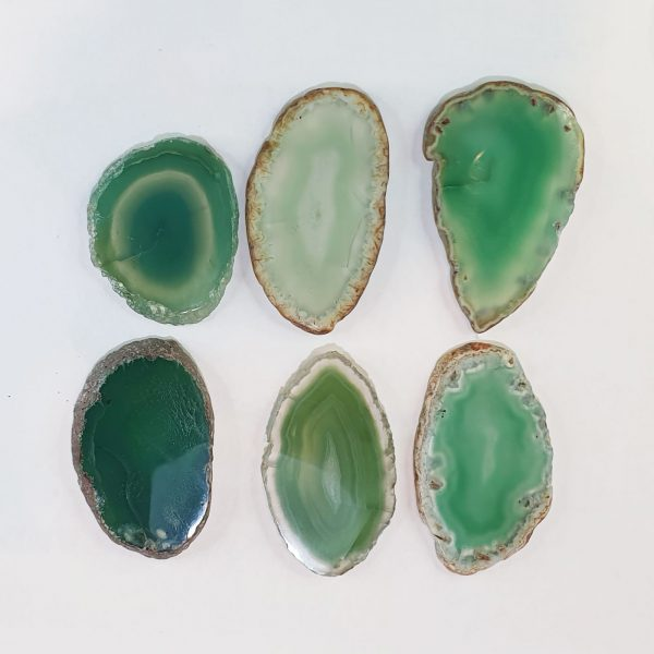 Green Agate Glue Stone