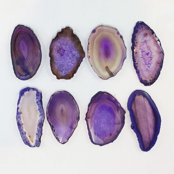 Purple Agate Glue Stone
